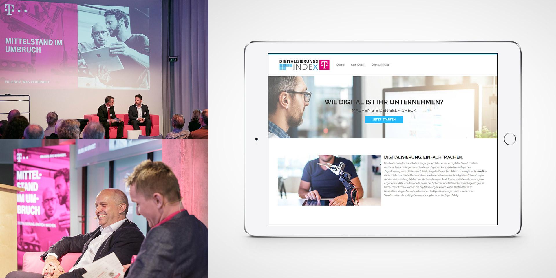 Digitalisierungsindex Mittelstand Website