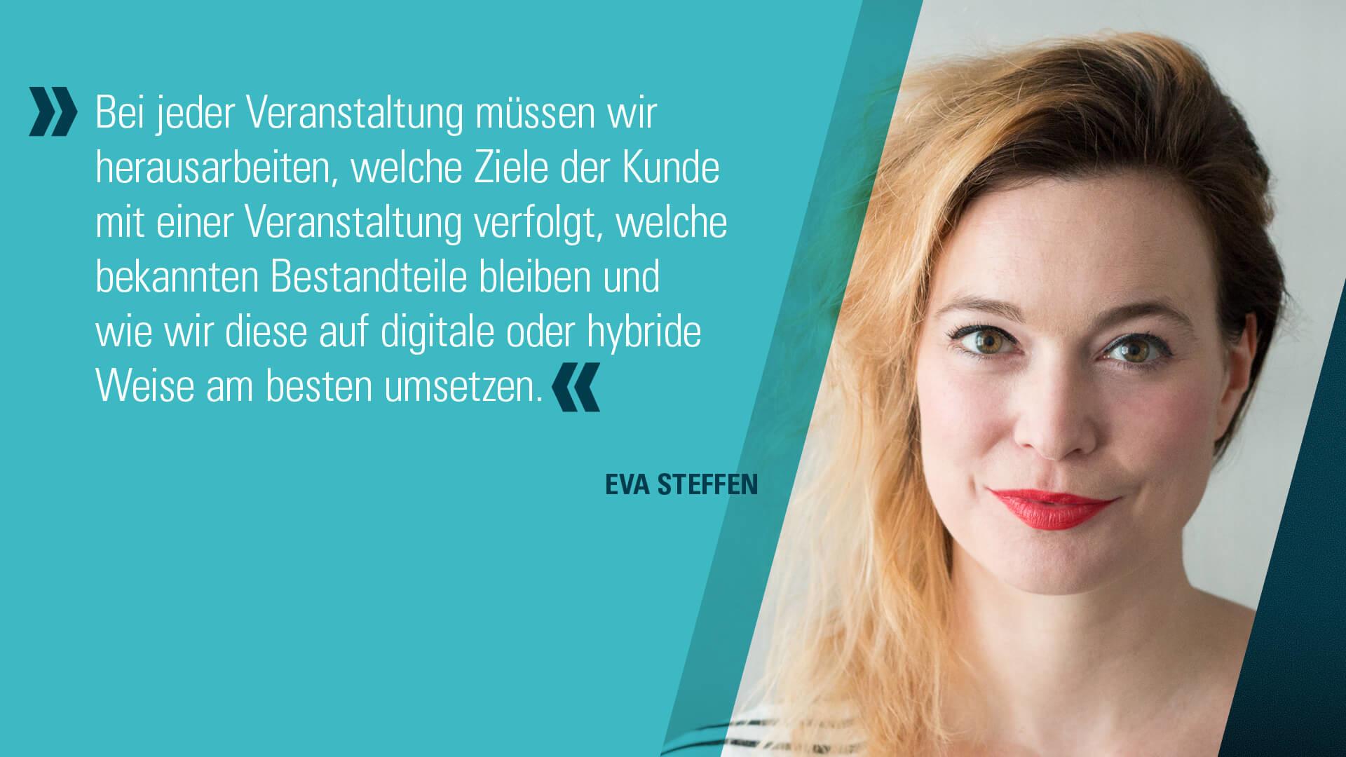 Eva Steffen Zitat