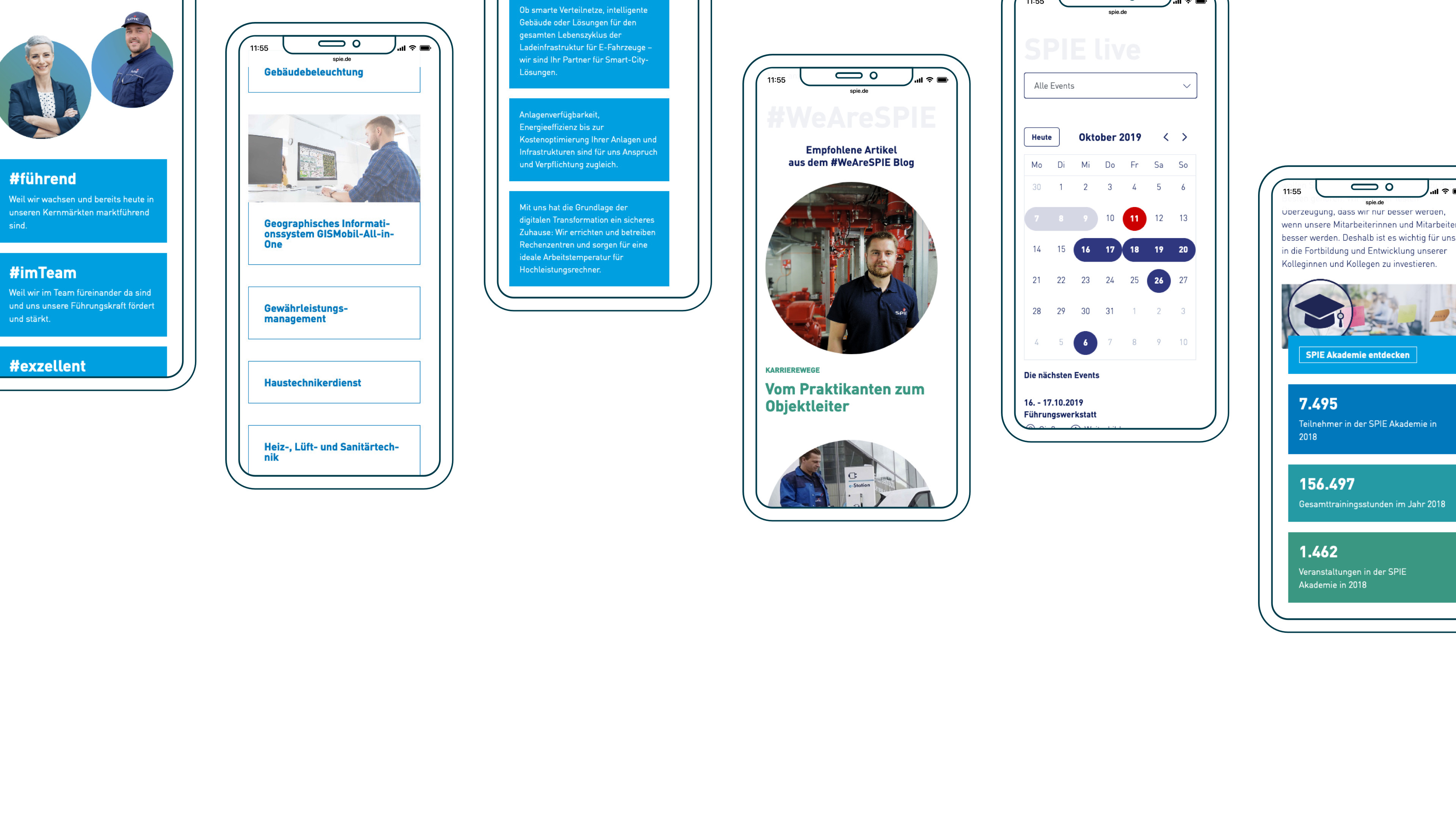 Spie Mobile Corporate Website 3