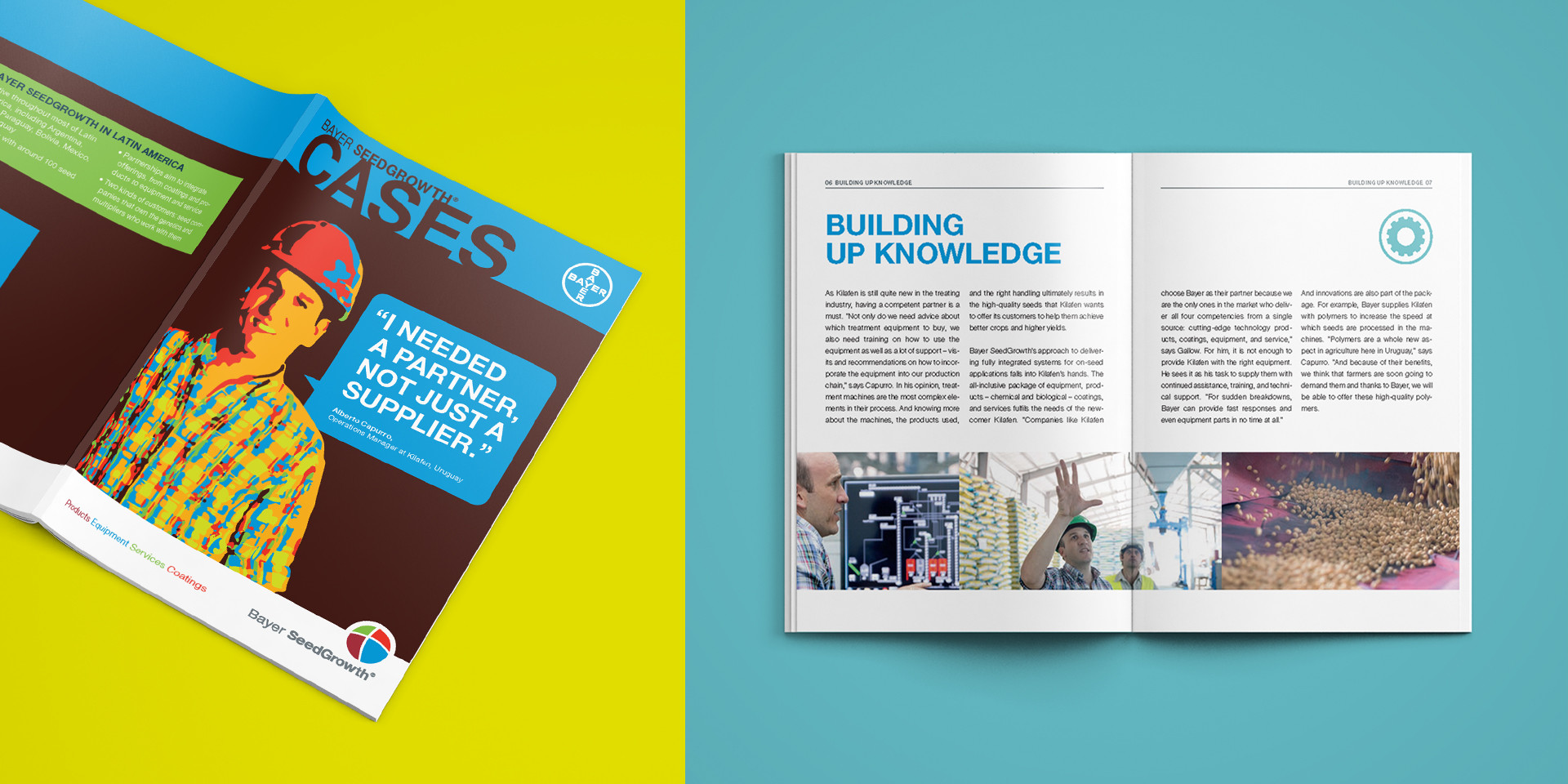 Bayer SeedGrowth reference customers minimag