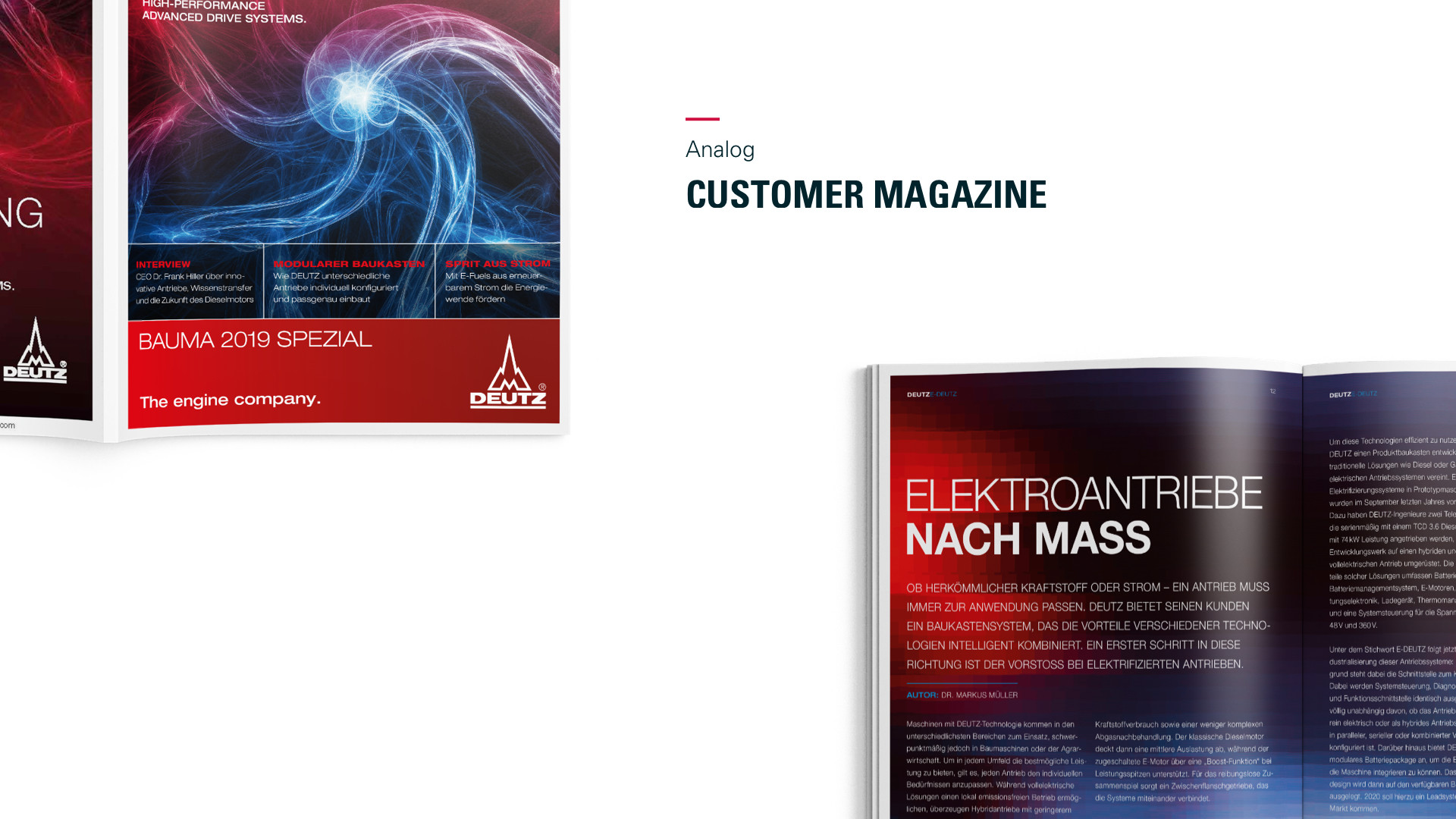 Deutz Customer Magazine 2