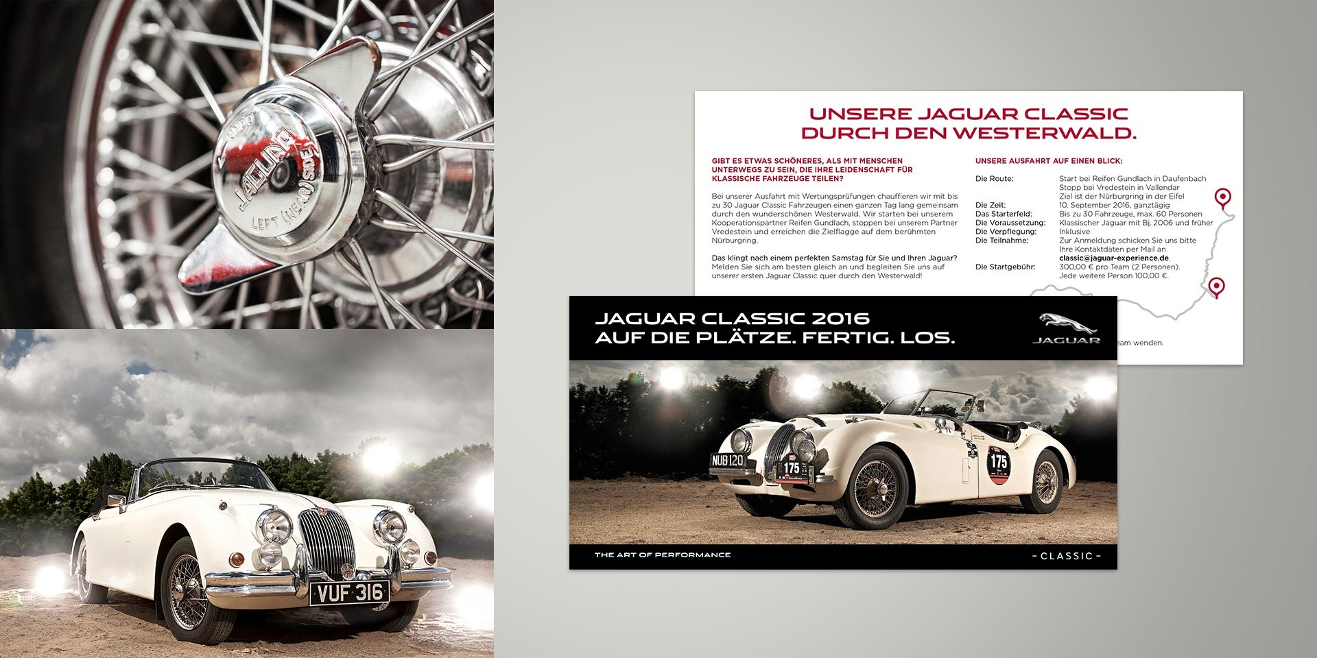 Jaguar Land Rover – Händlerportal – Broschüre Oldtimer