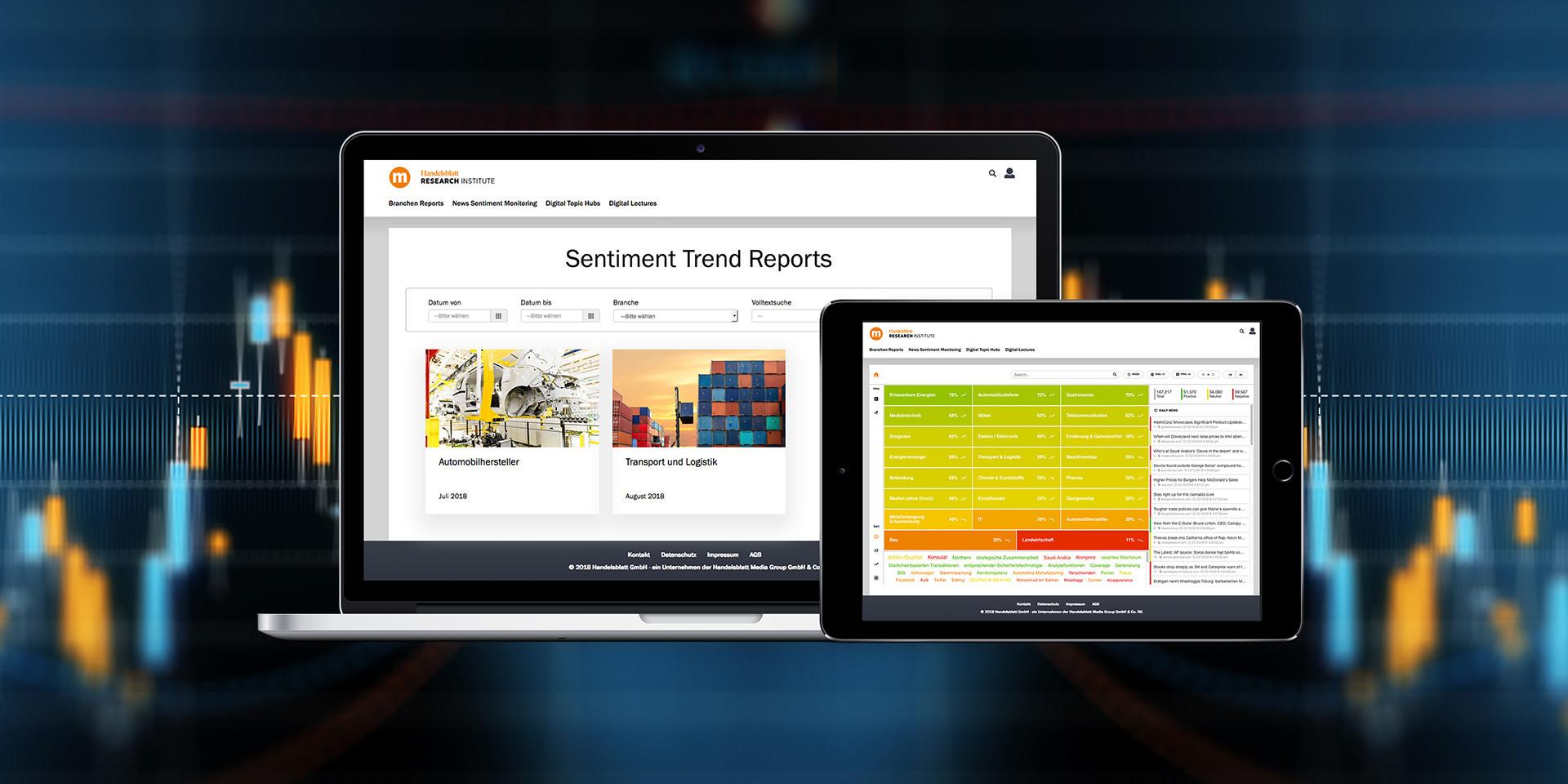 HRI Sentiment Trend Reports