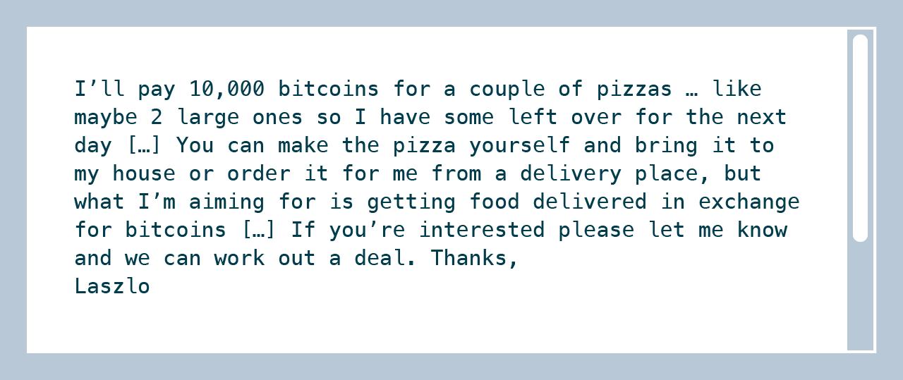 Laszlo Bitcoin Forum