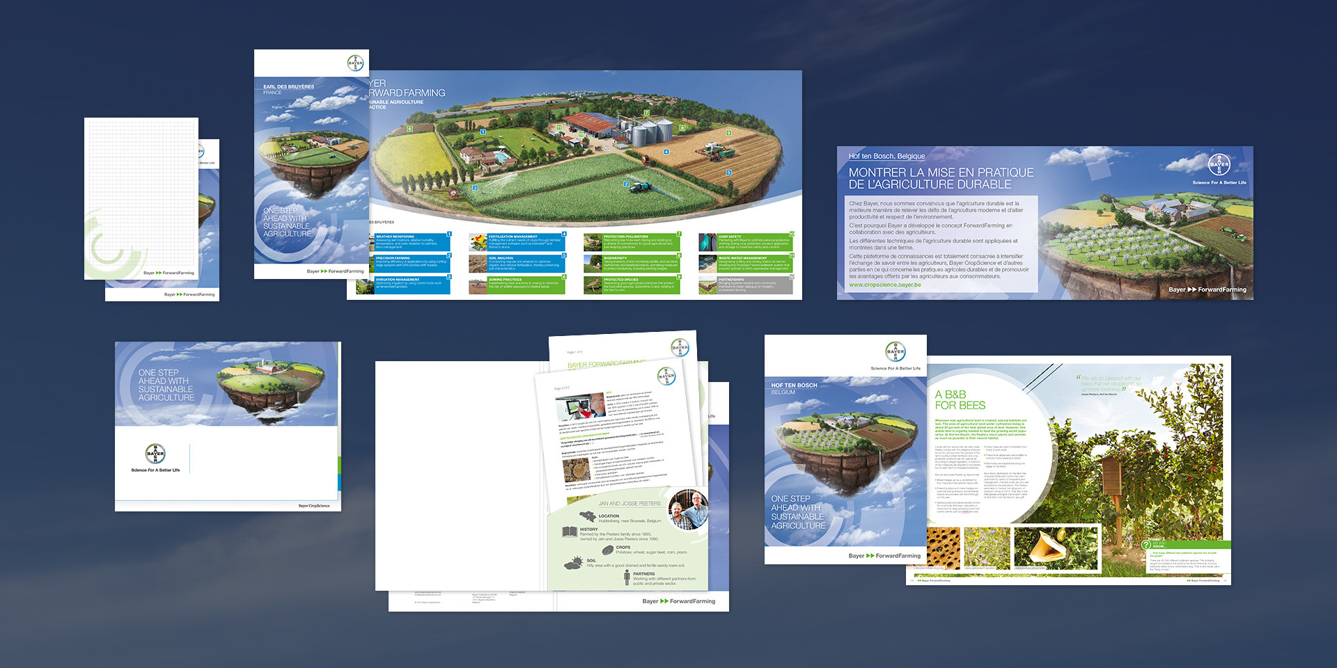 Bayer – ForwardFarming – Communication material