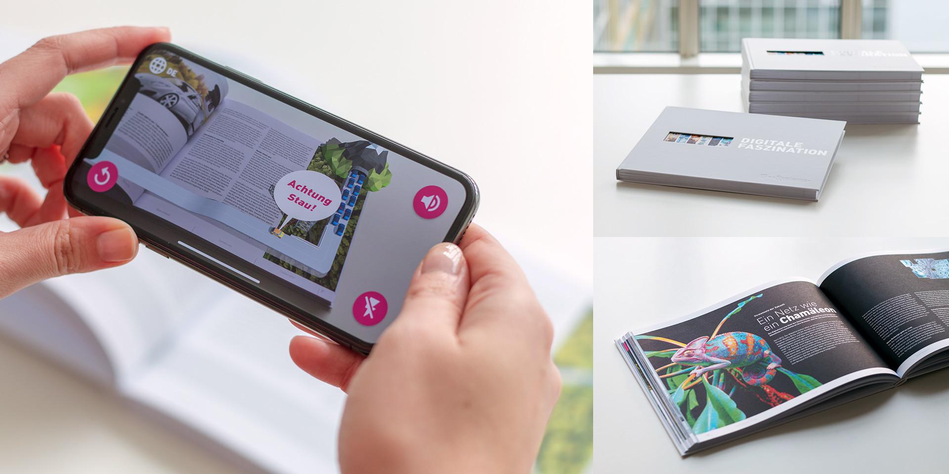 "Augmented Reality Buch ""Digitale Faszination"""