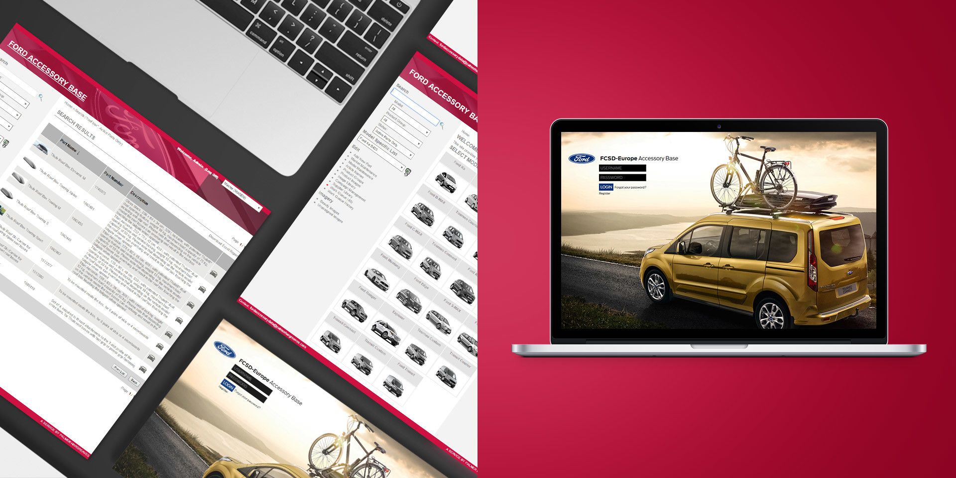 Ford Europe – Online Accessory Base – Plattform