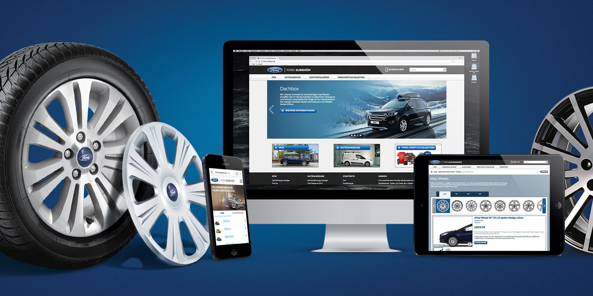 Ford Europe – Online Accessory Catalogue – Plattform