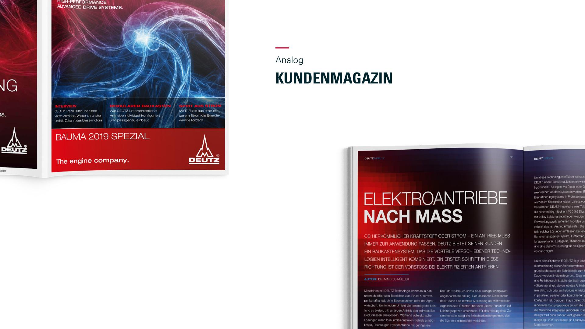 Deutz Kundenmagazin 2