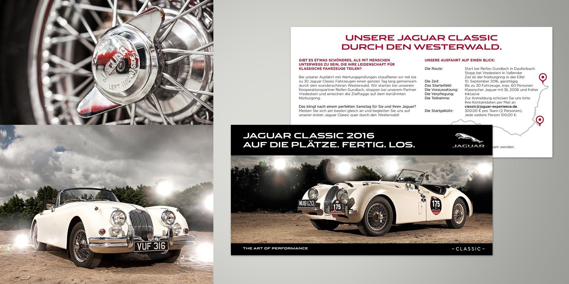 Jaguar Land Rover – Dealer platform – Brochure Oldtimer