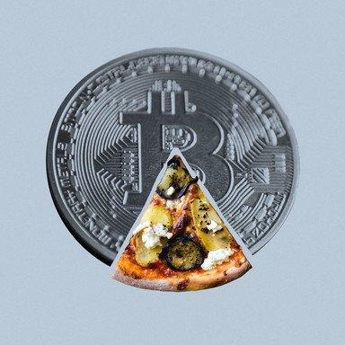 Pizza per Bitcoin: Blockchain für den Alltag
