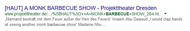 Beispiel schlechter SEO URLs