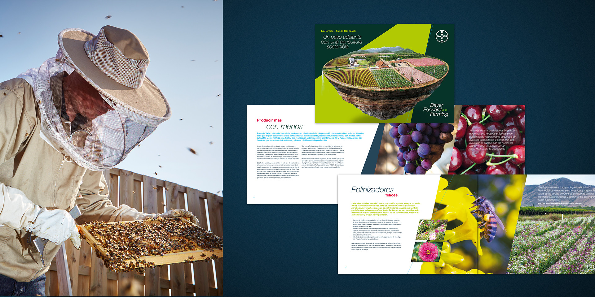 Bayer ForwardFarming Broschüre