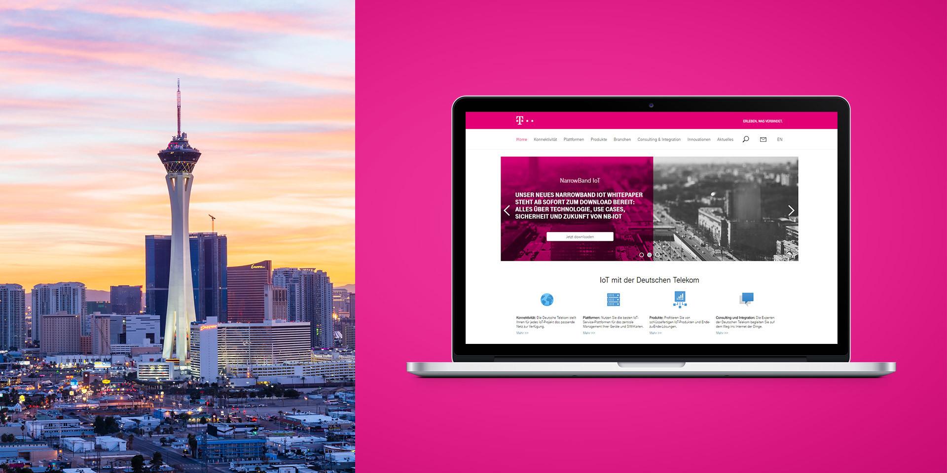 Deutsche Telekom IOT Website