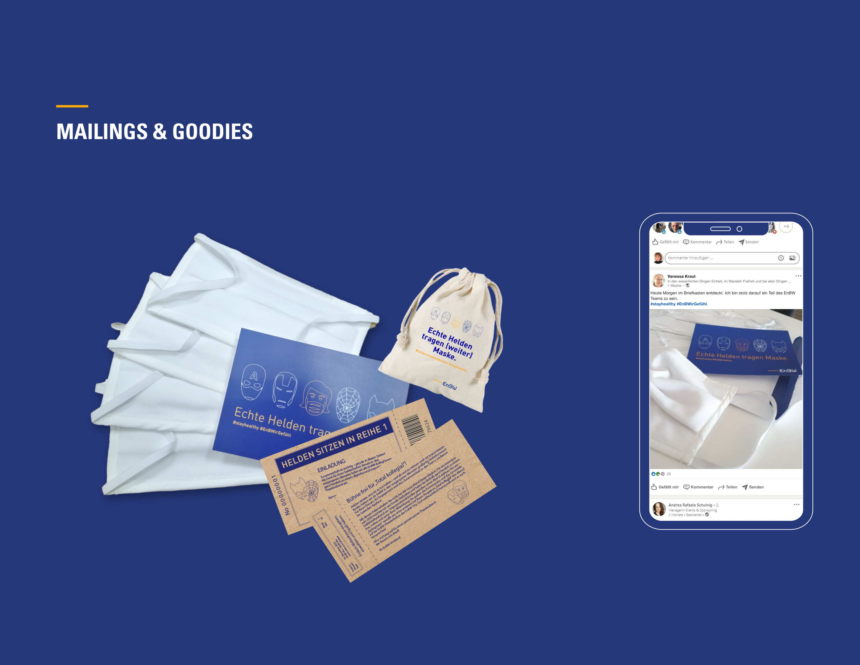 EnBW Mailings & Goodies