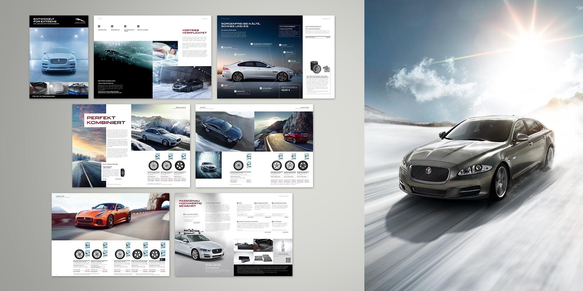 Jaguar Land Rover – Dealer platform – Editable brochure