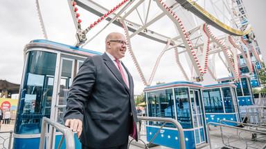 Wirtschaftsminister Altmaier auf der Cebit 2018