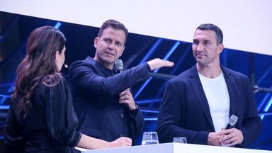 Oliver Bierhoff und Wladimir Klitschko
