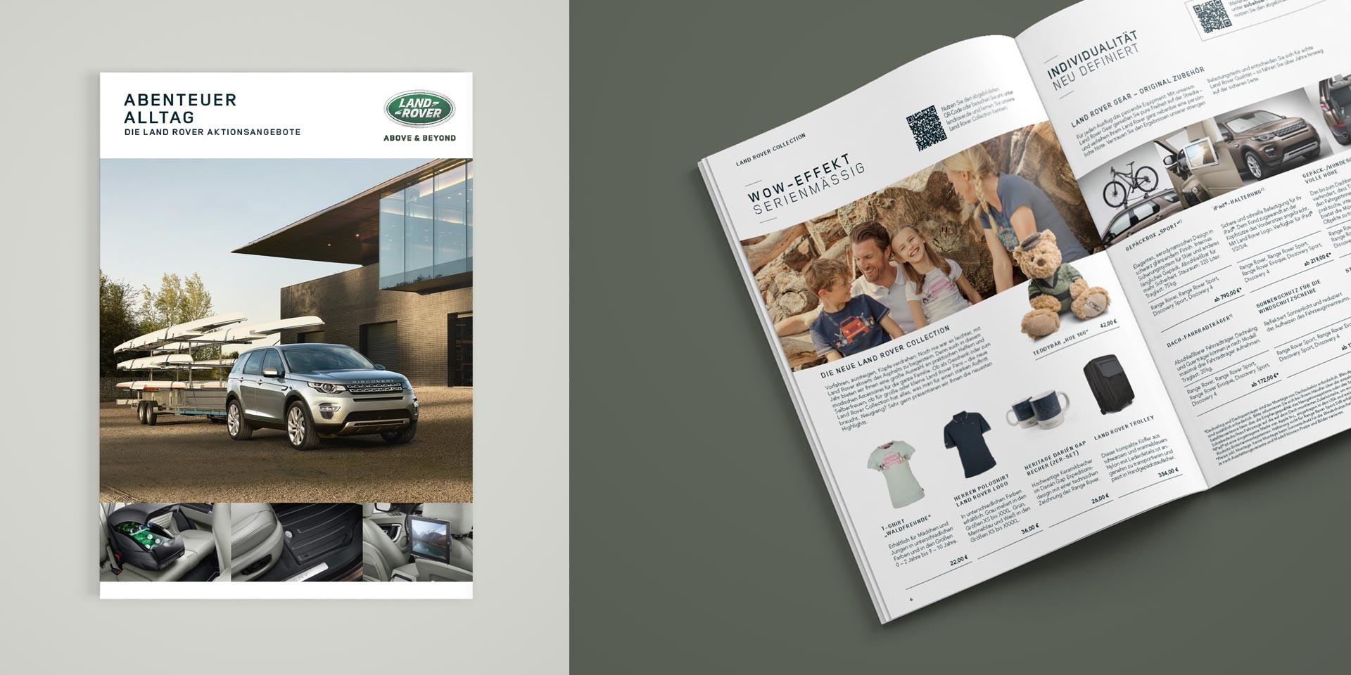 Jaguar Land Rover – Händlerportal – Broschüre