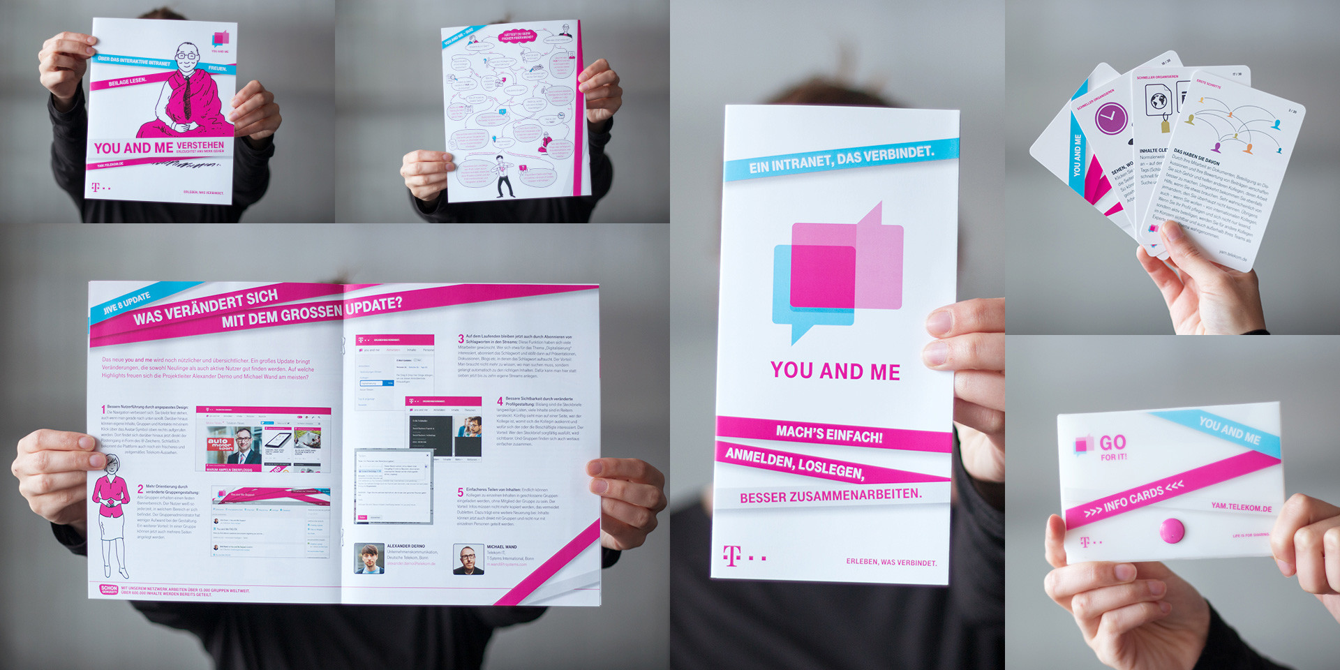 Deutsche Telekom – You And Me – Communication material