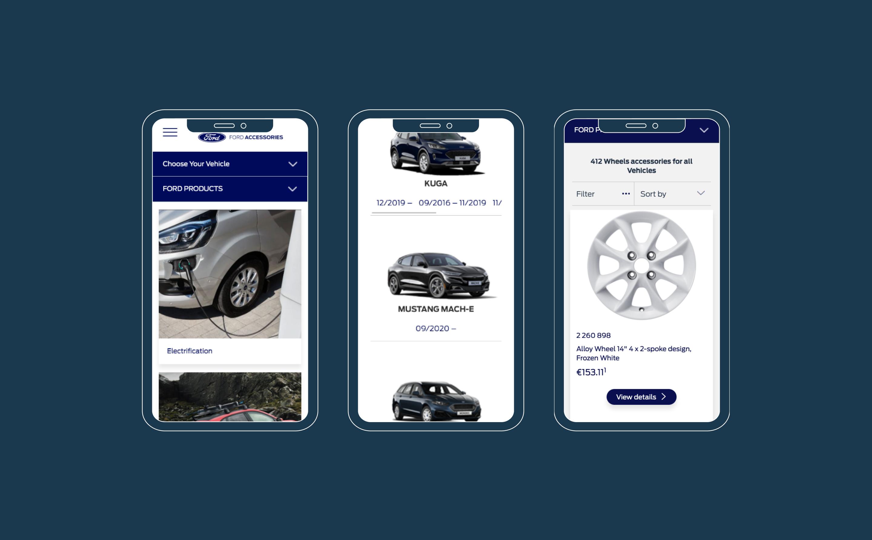 Mobile Ford Zubehör-Shop