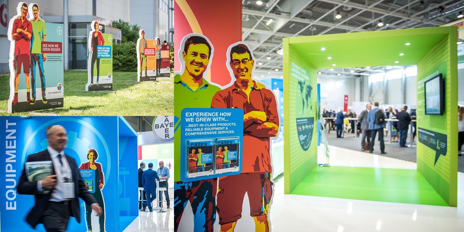 Bayer SeedGrowth fair booth concept ISF 2017