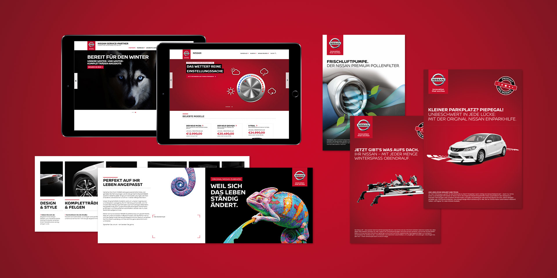 Nissan Aftersales Kommunikationsmaterial