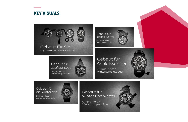 Nissan WKR - Key Visuals