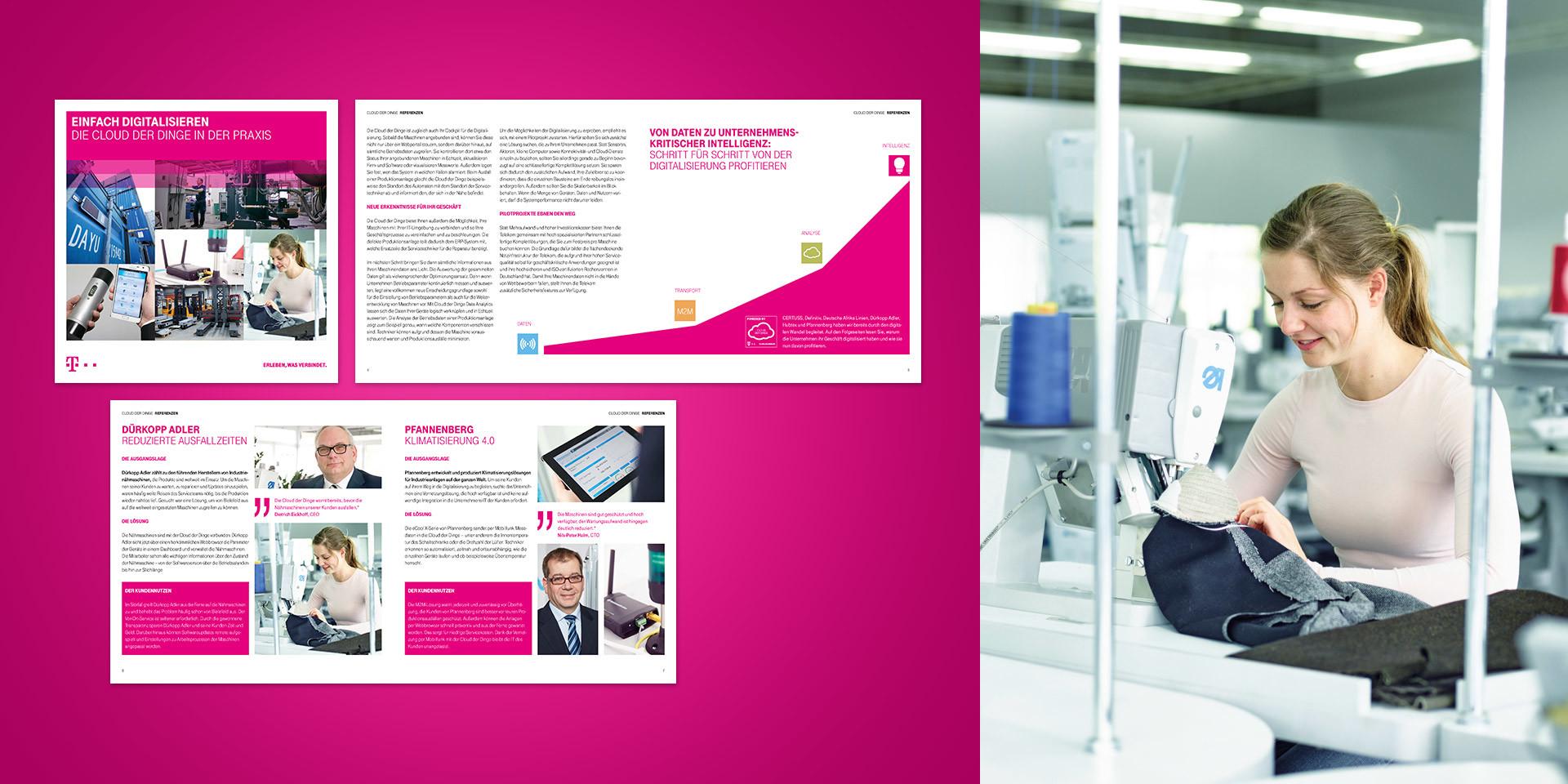 Deutsche Telekom – M2M / IOT – Brochure Cloud
